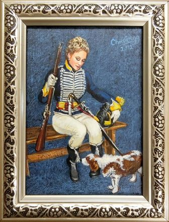 Tamsin of the 10th Light Dragoons 1796