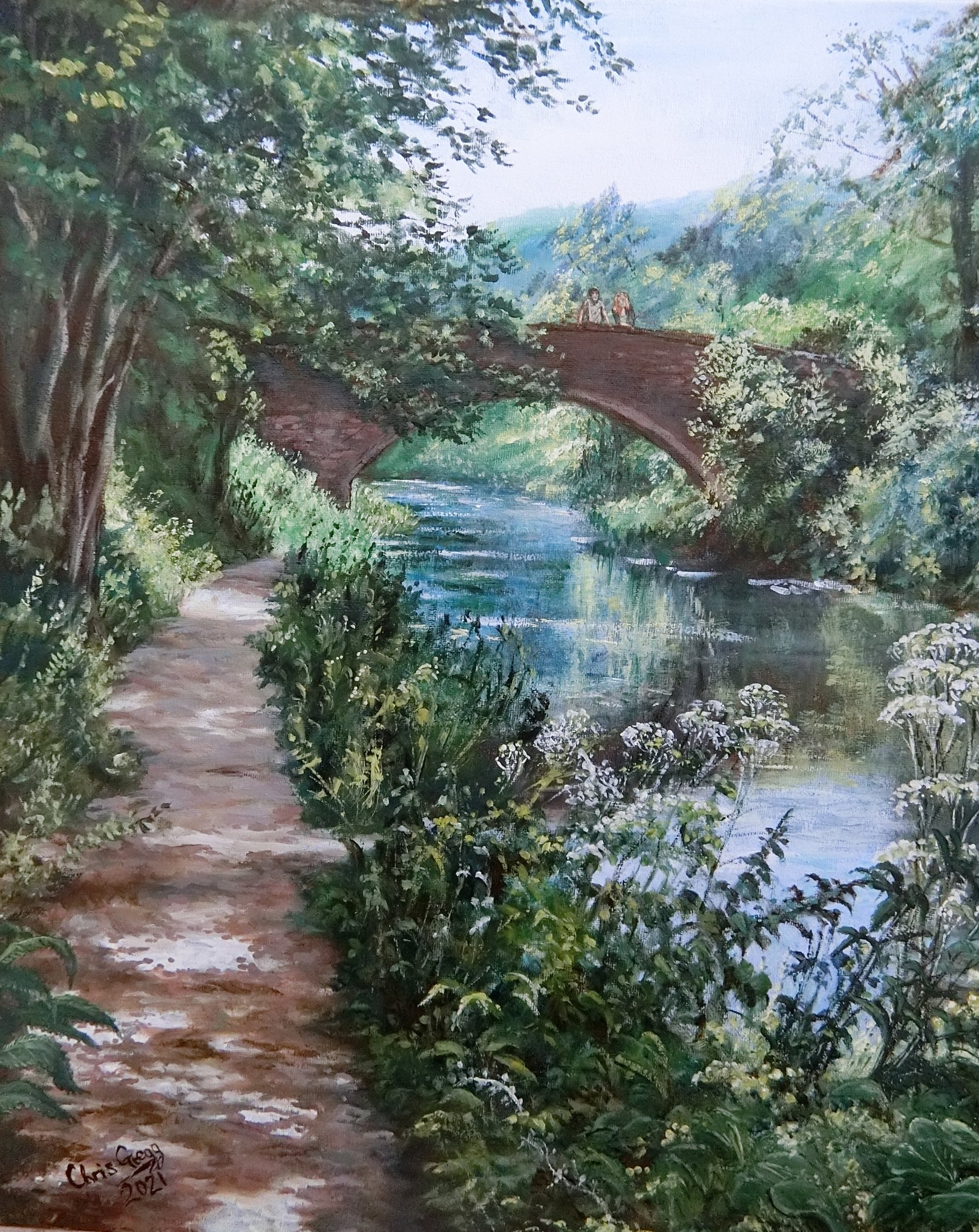 Stanton's Bridge, Near Thrupp, Stroud, Gloucestershire